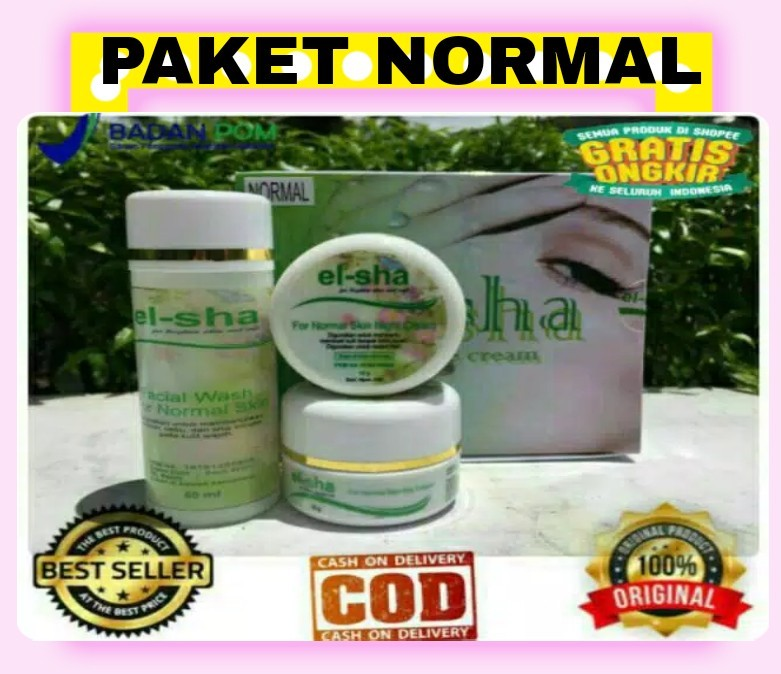 Paket Normal Elsha Miracle Cream